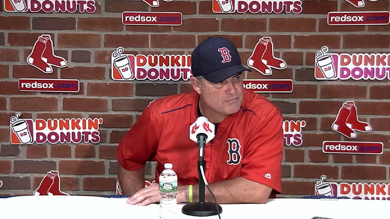 Farrell on loss to Yankees