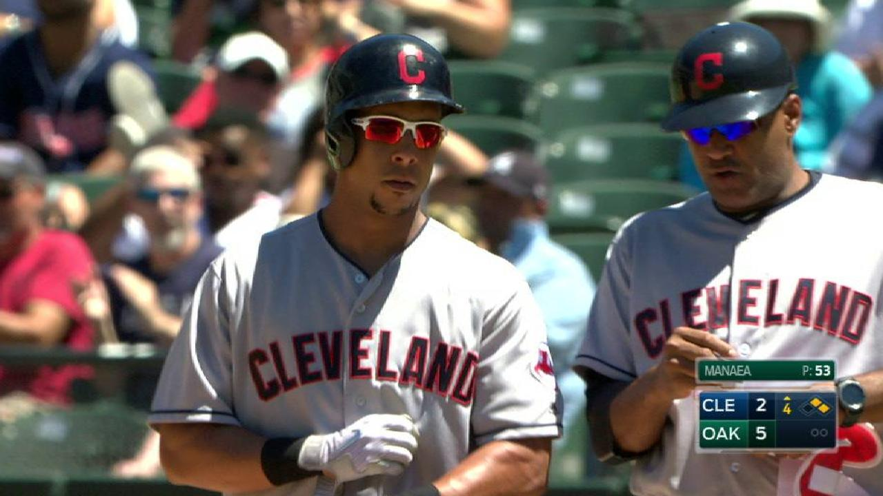 Brantley's two-run single