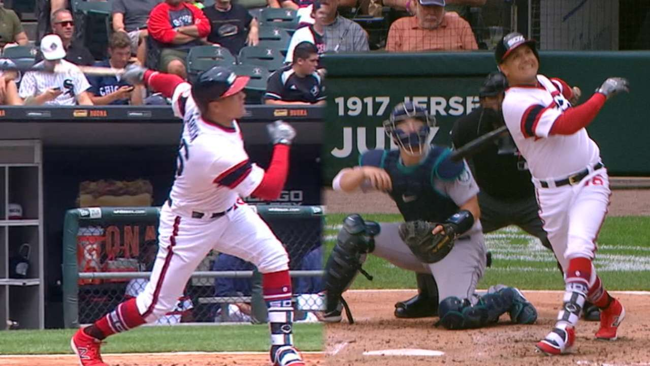 Avisail Garcia's two-homer game