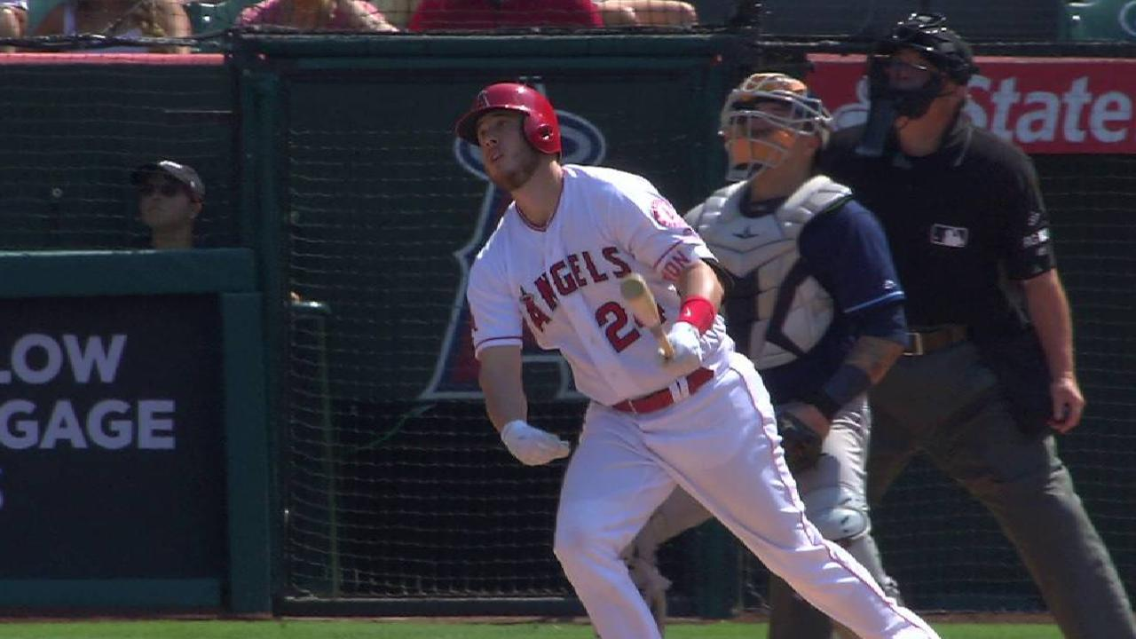 Cron's clutch homer lifts Angels over Rays