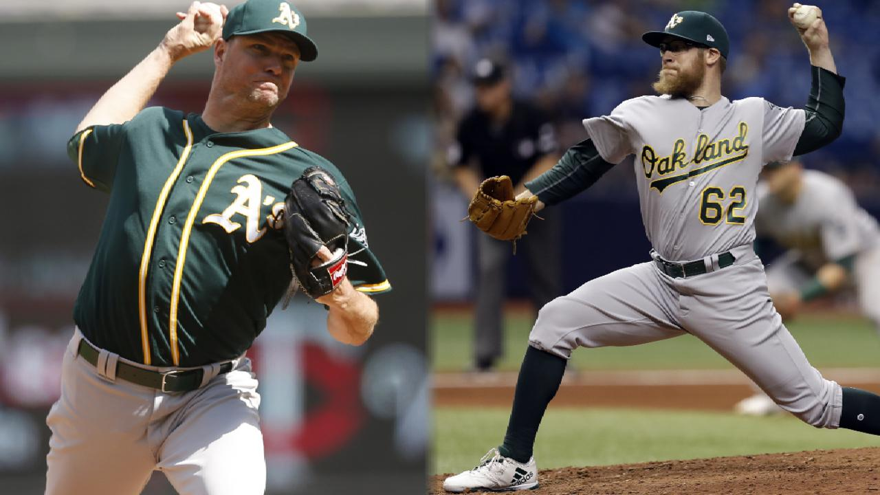 Nats acquire Doolittle, Madson from A's
