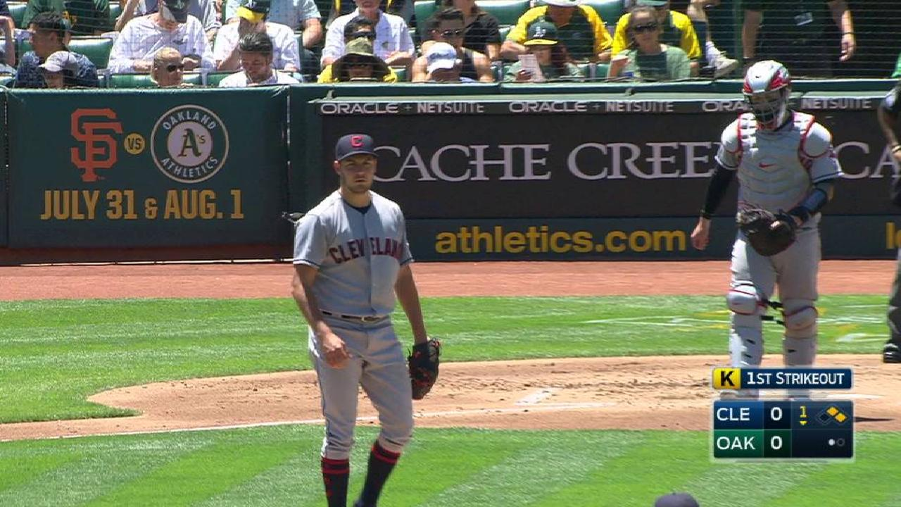 Bauer's outing reflects rotation's inconsistency