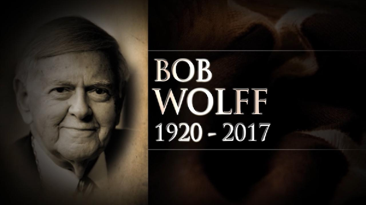 Legendary broadcaster Wolff dies at 96