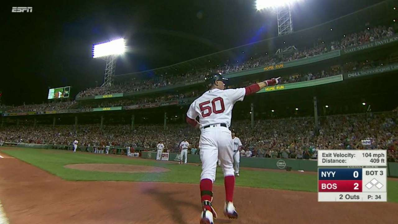 Betts' two-run home run
