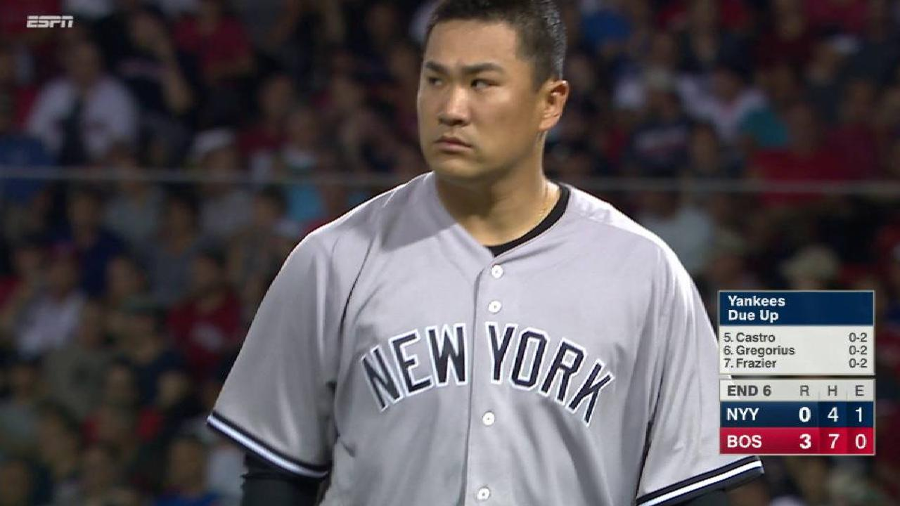 Tanaka, CC step up in doubleheader
