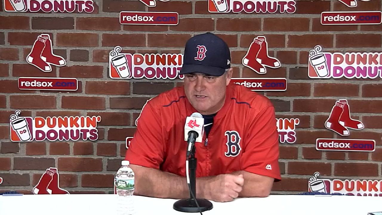 Farrell on the 3-0 win