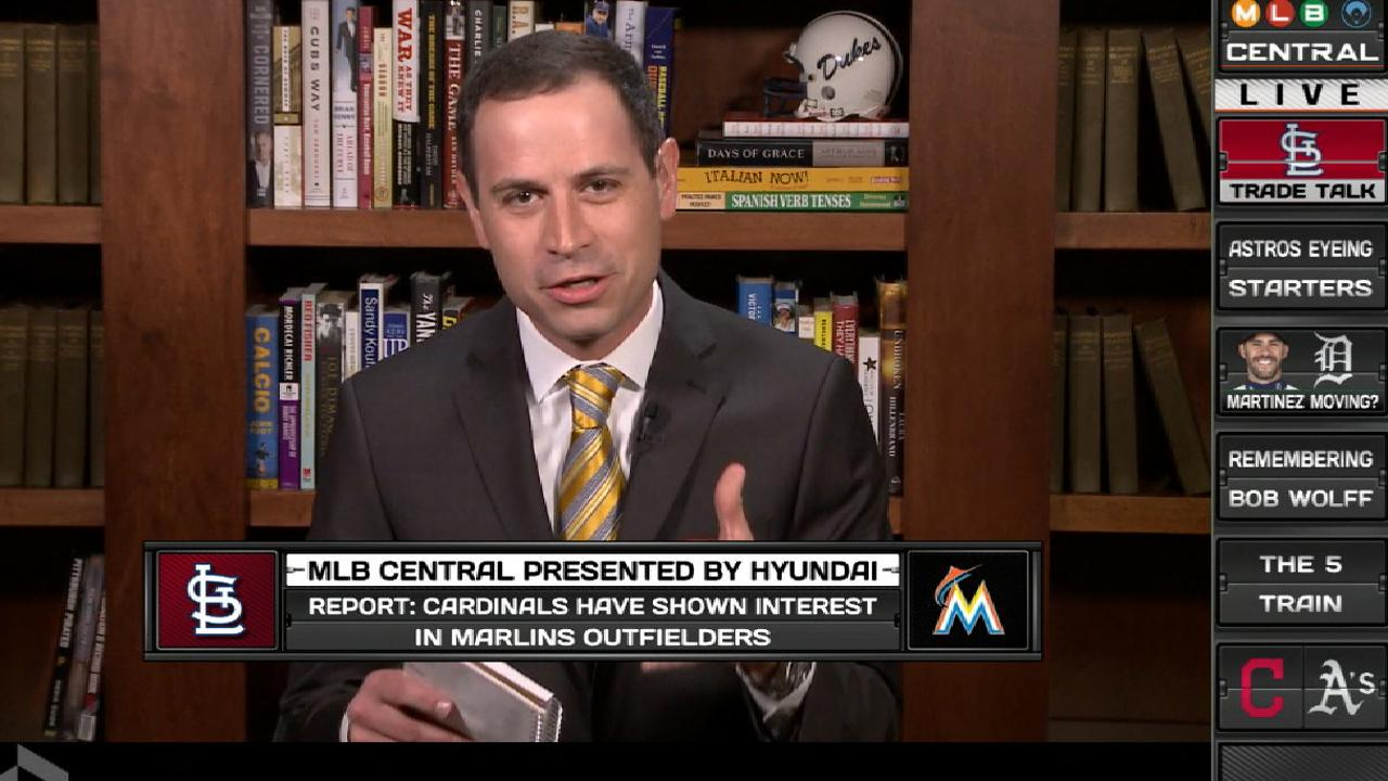 Cardinals intrigued by Marlins outfielders