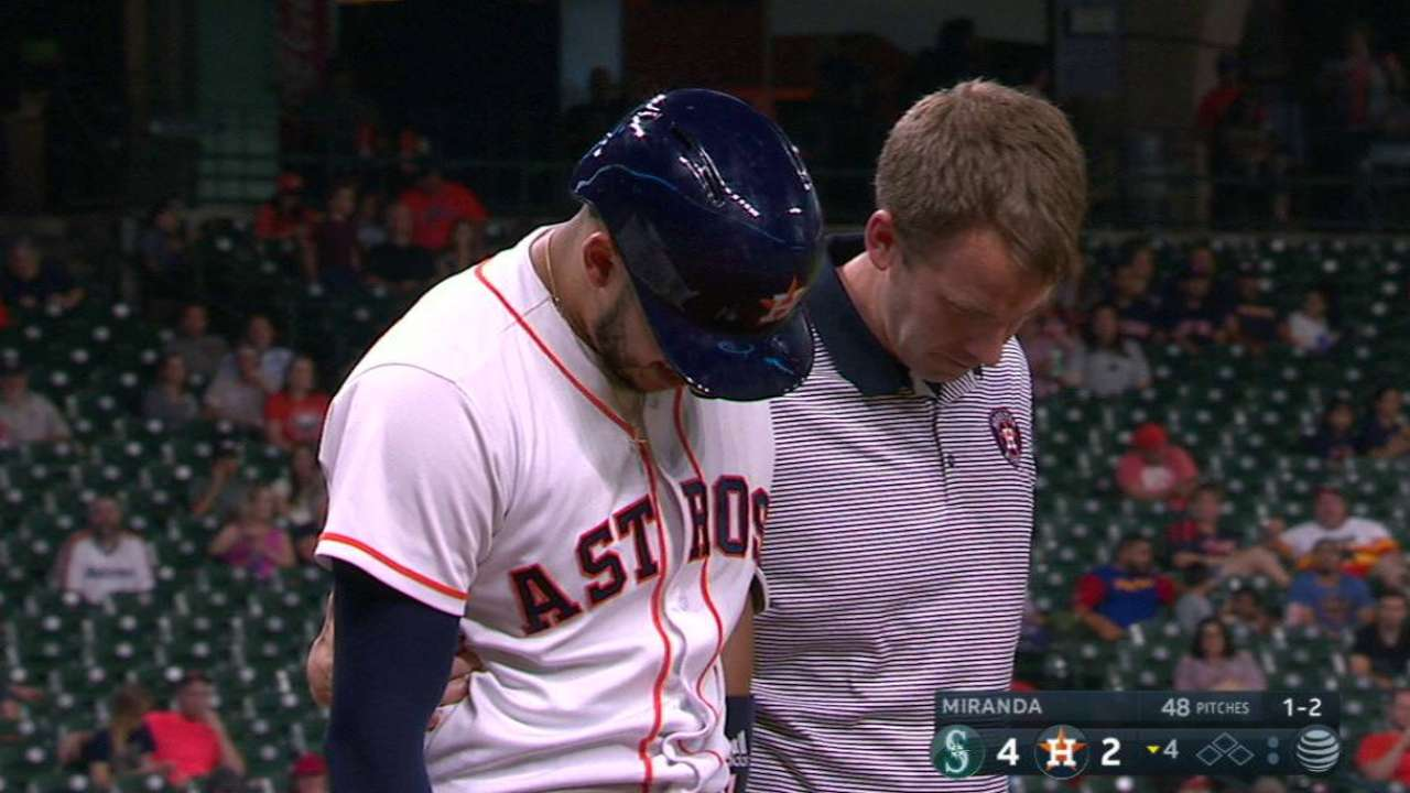 Correa leaves with injury