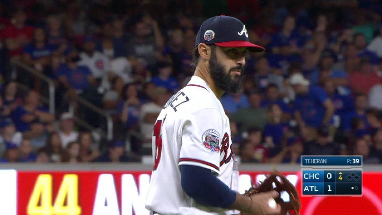 Rodriguez activated, makes Braves debut