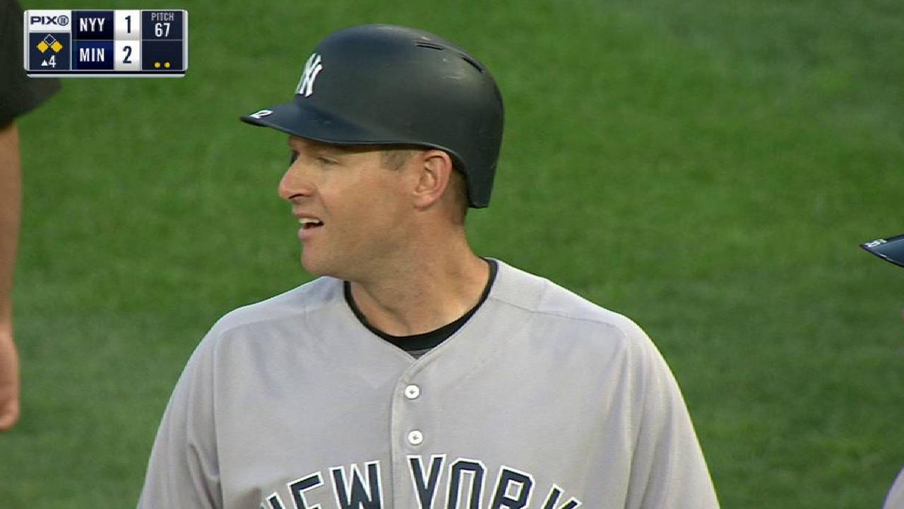 Yankees' Headley ready to tackle first base