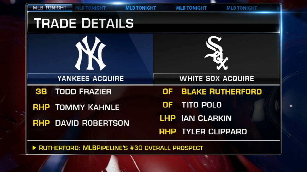 Frazier, Robertson to Yankees