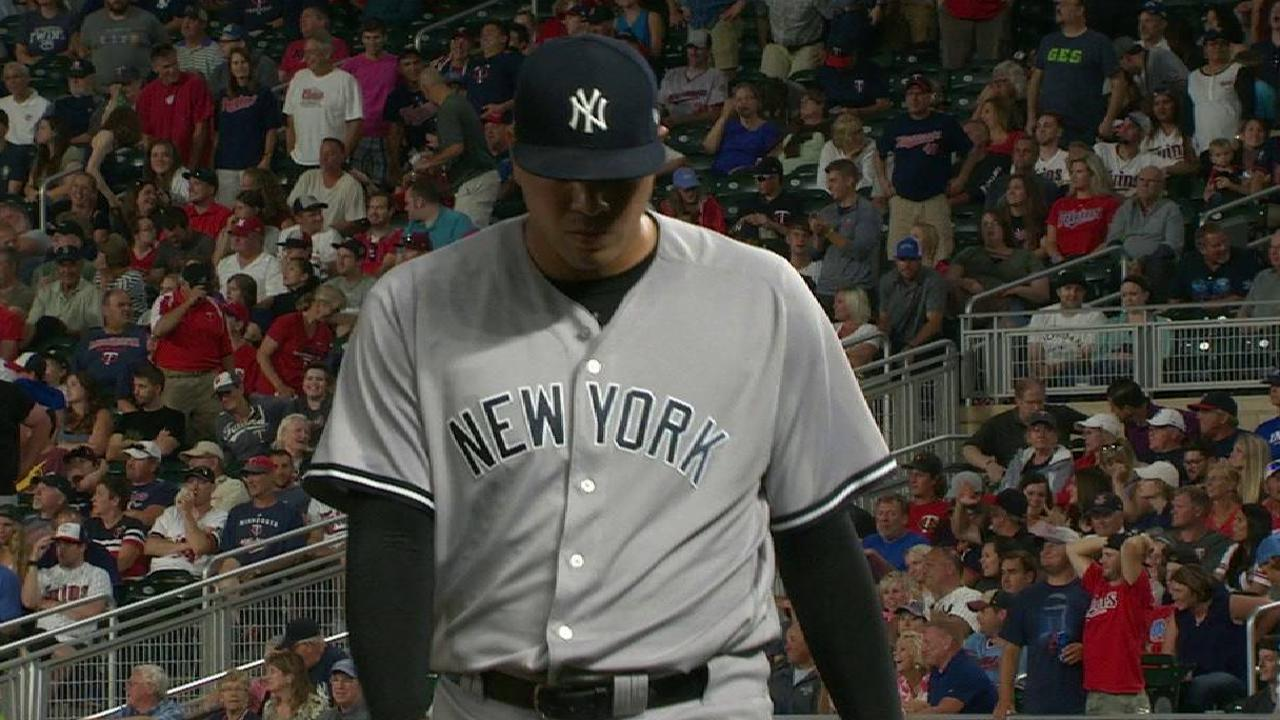 Betances holds the lead in 8th