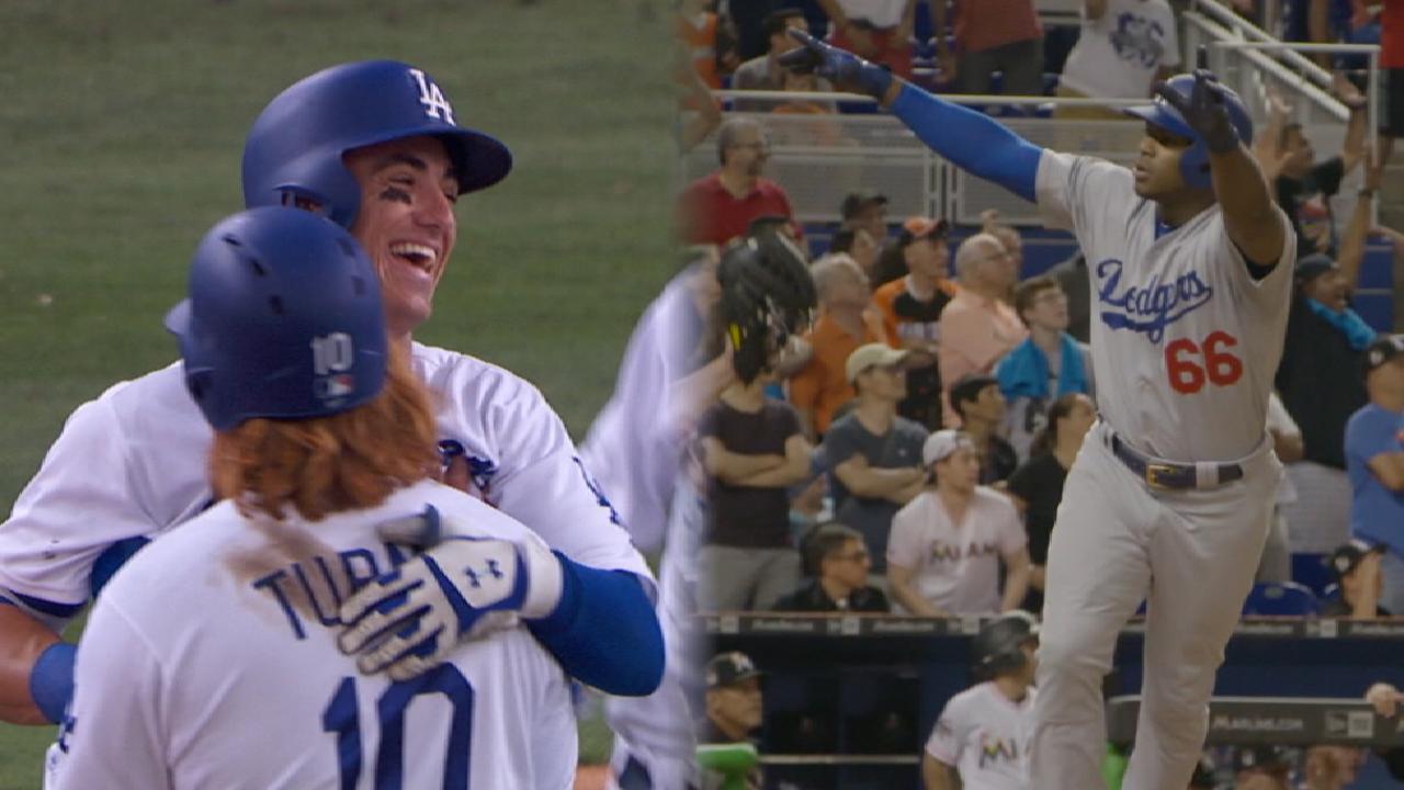 Dodgers' 10-game win streak