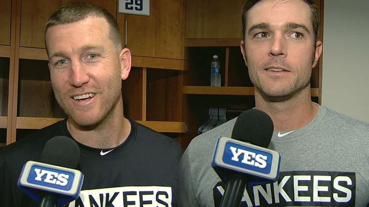 Robertson embraces setup role with Yanks