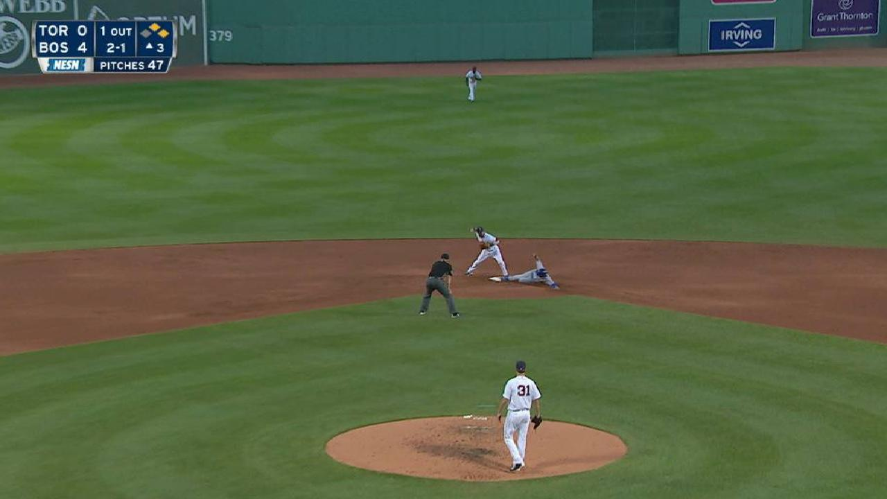 Pomeranz escapes trouble in 3rd