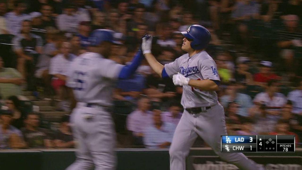 Dodgers barren a White Sox y se llevan su 11mo triunfo en fila
