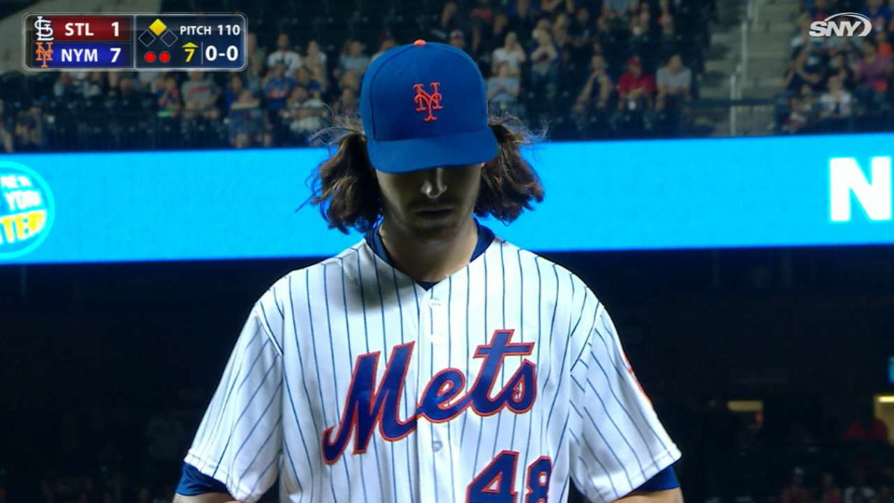 deGrom's stellar outing