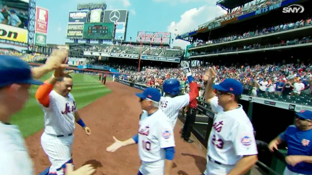 Reyes se aviva para darle triunfo a Mets sobre Cardenales