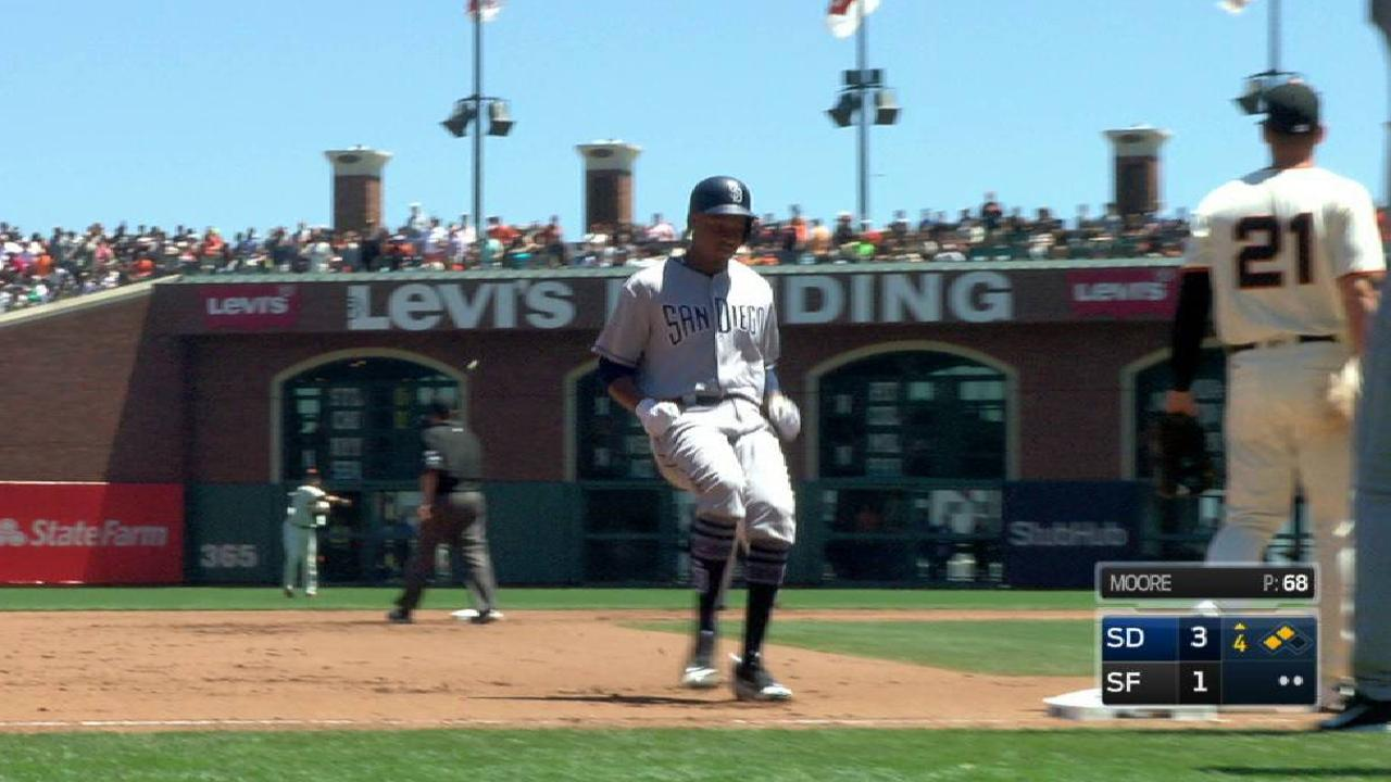 Perdomo's two-run triple