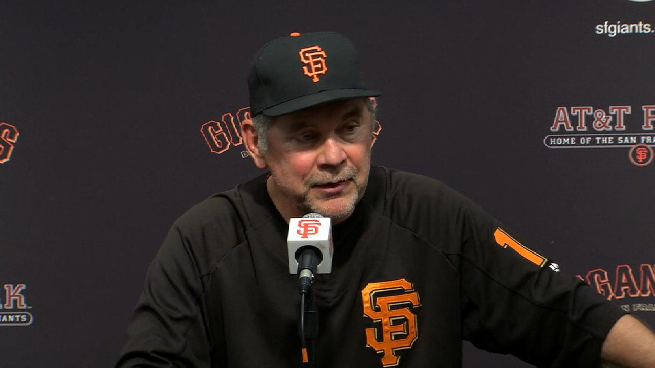 Bochy on walk-off win over SD