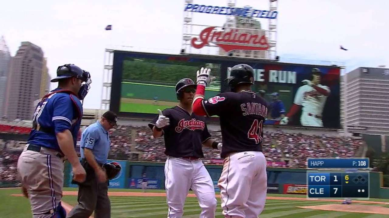 Brantley's two-run jack