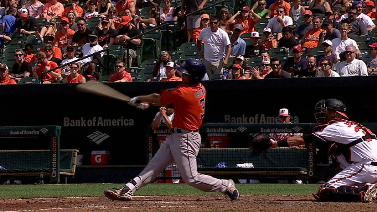 Aoki's three-run homer