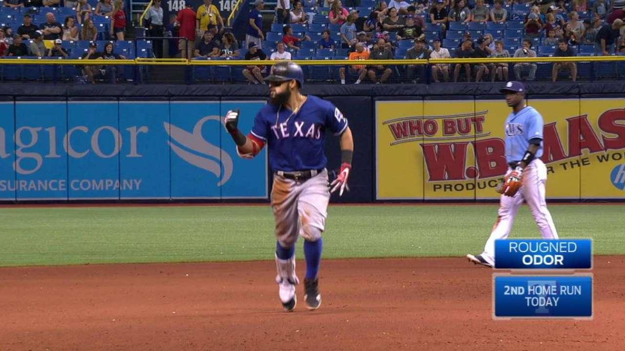Odor's game-tying two-run homer