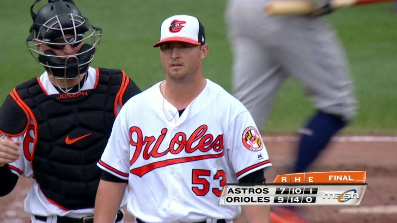 Britton fija récord de salvados en triunfo de Orioles vs. Astros