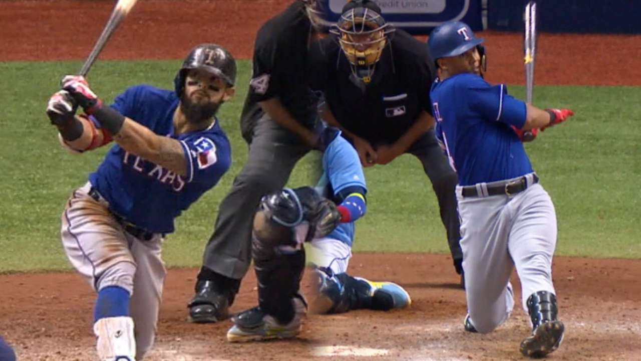 Odor, Gomez deliver to cap sweep of Rays