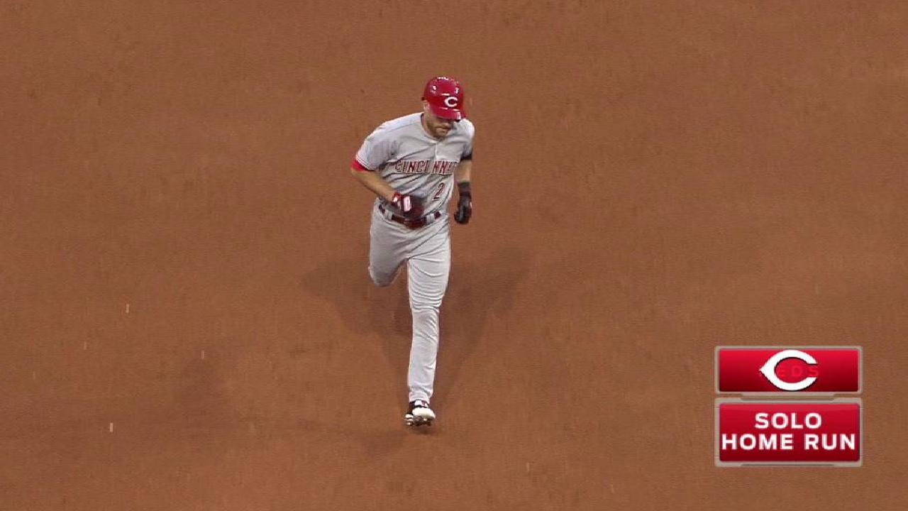 Cozart's solo homer to left