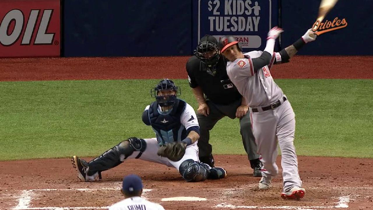 Machado, pitcheo de Orioles dominaron a los Rays