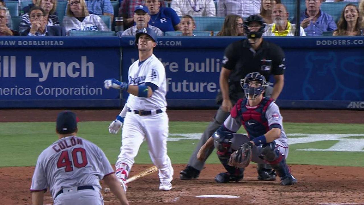 Grandal jonroneó y Dodgers vencieron a Mellizos con poder