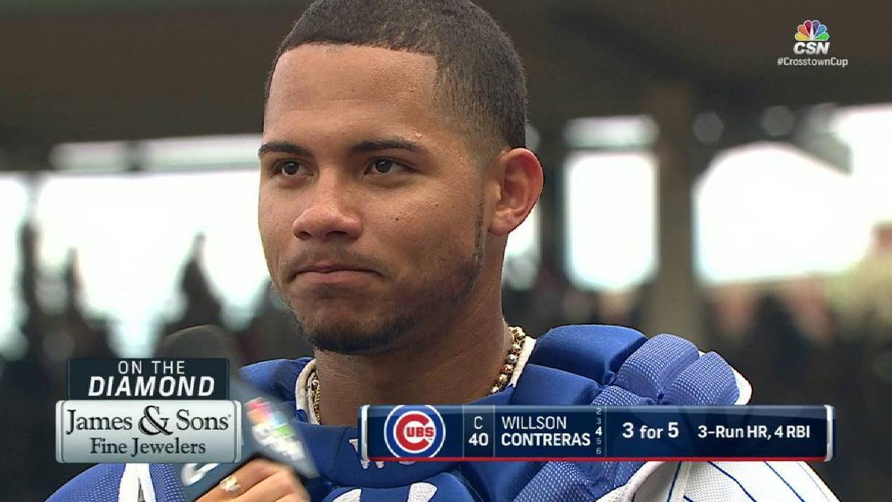 Contreras on recent success