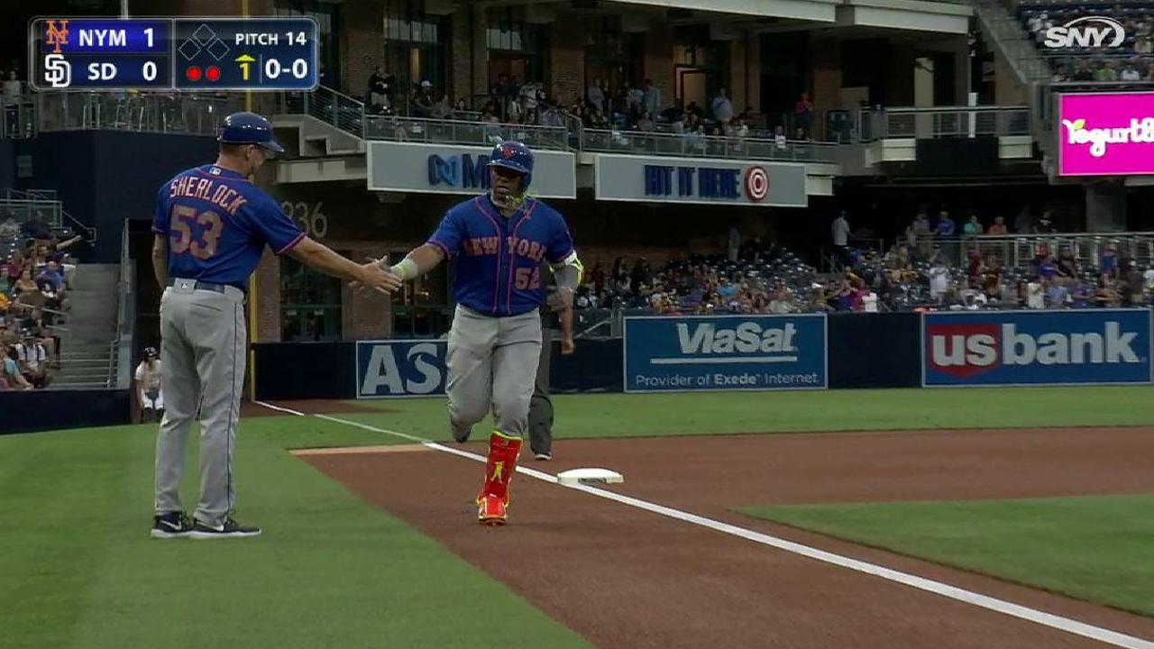 Bate de Yoenis Céspedes lideró a Mets vs. Padres