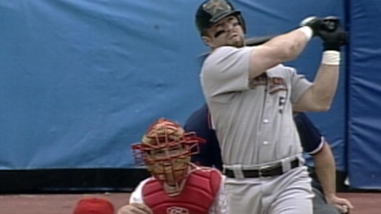 Bagwell's greatest game: 2 HR, 7 RBIs, SB, HBP