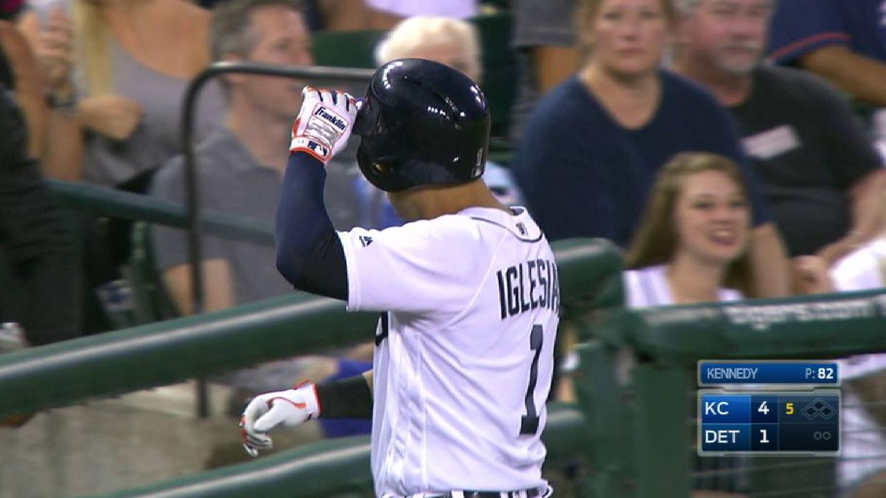 Anibal, Tigers have no answer for streaking KC