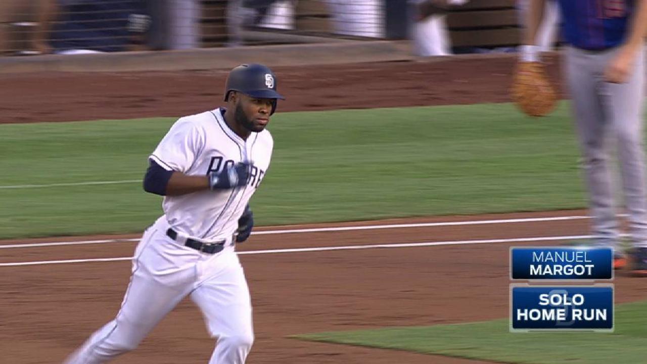 Rookies power Padres in finale win over Mets