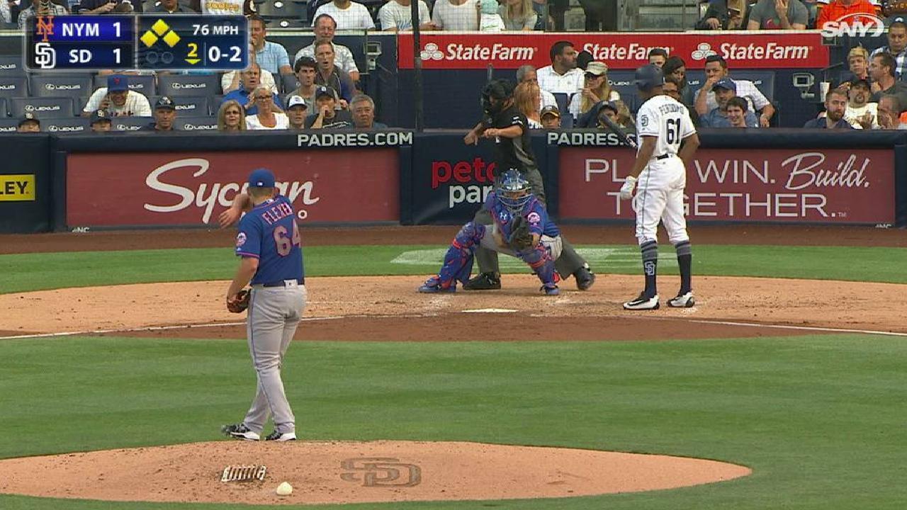 Flexen's first career strikeout