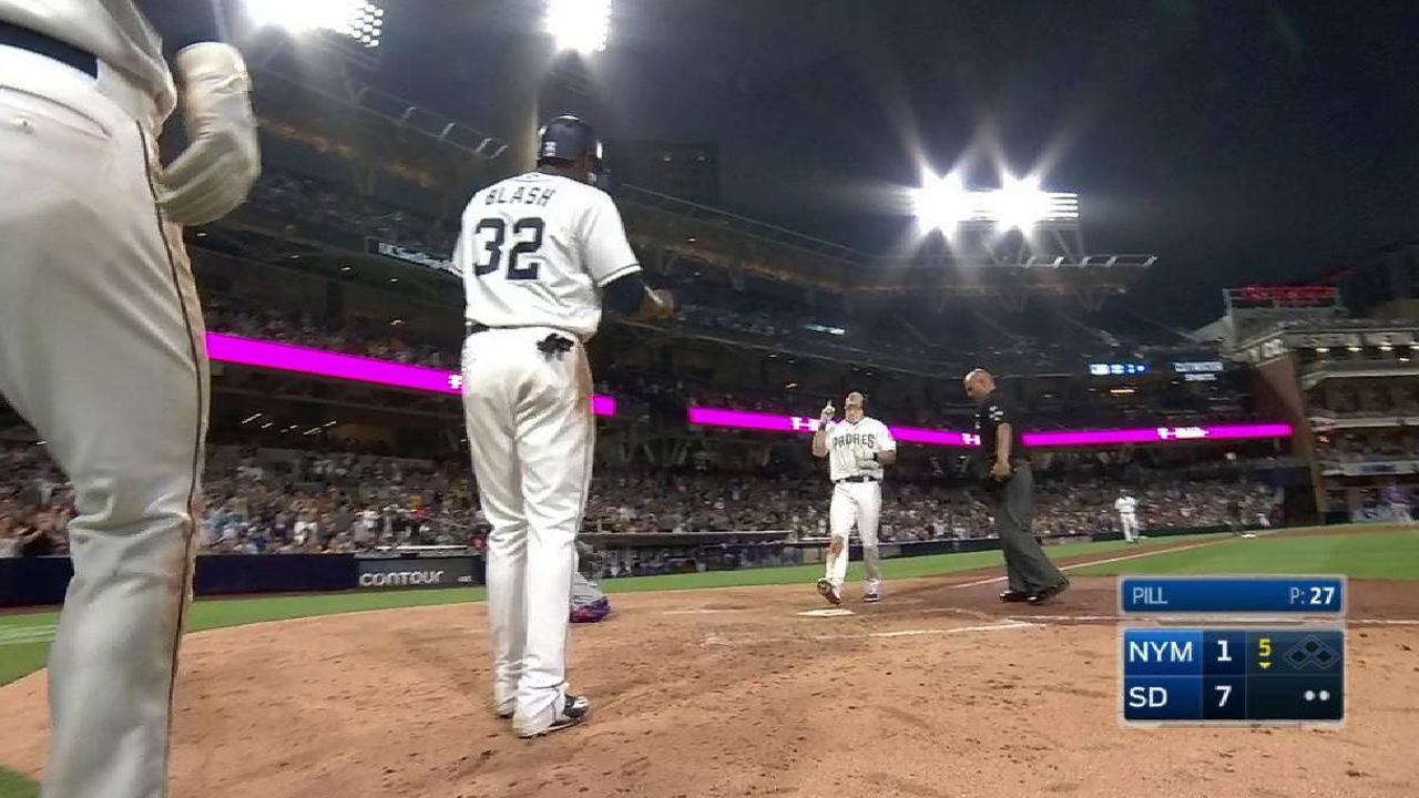 Coleman's three-run home run