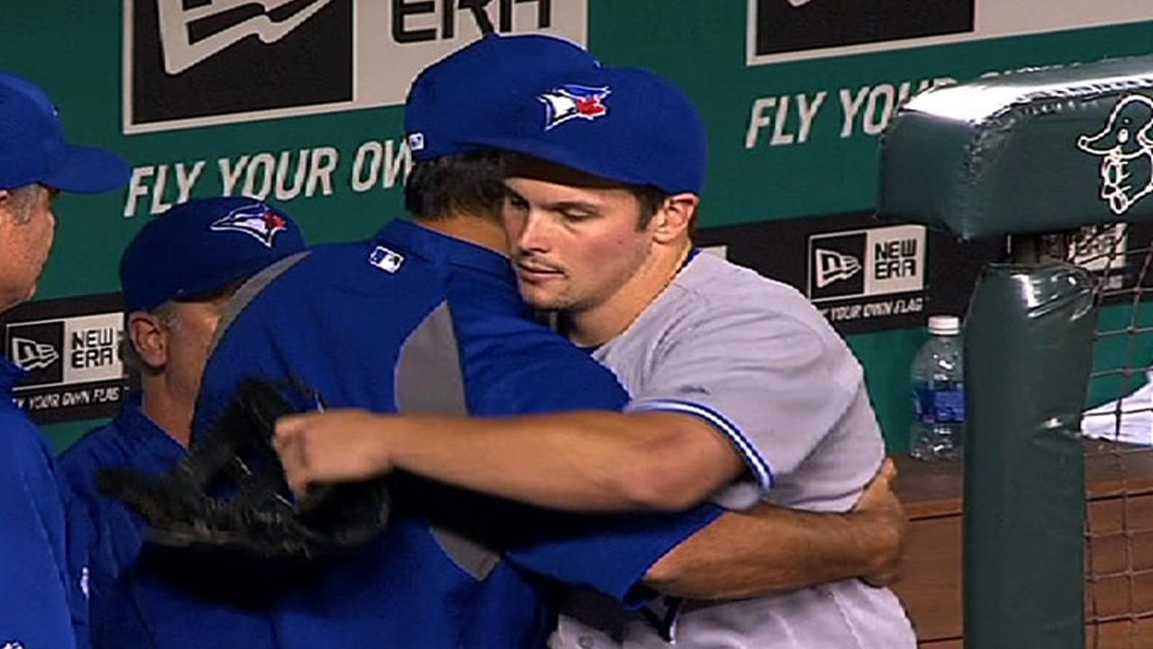 Snider bids teammates goodbye