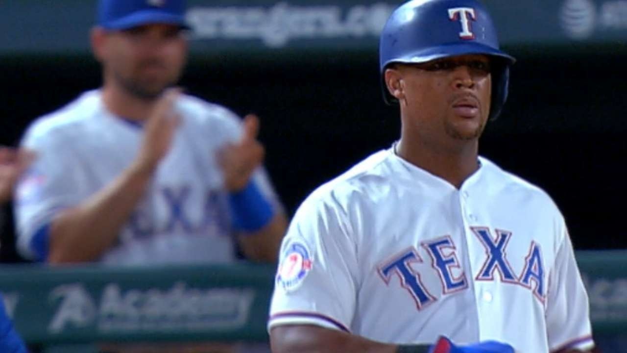 Adrián Beltré llega a 2,998 hits en triunfo de Rangers sobre Orioles