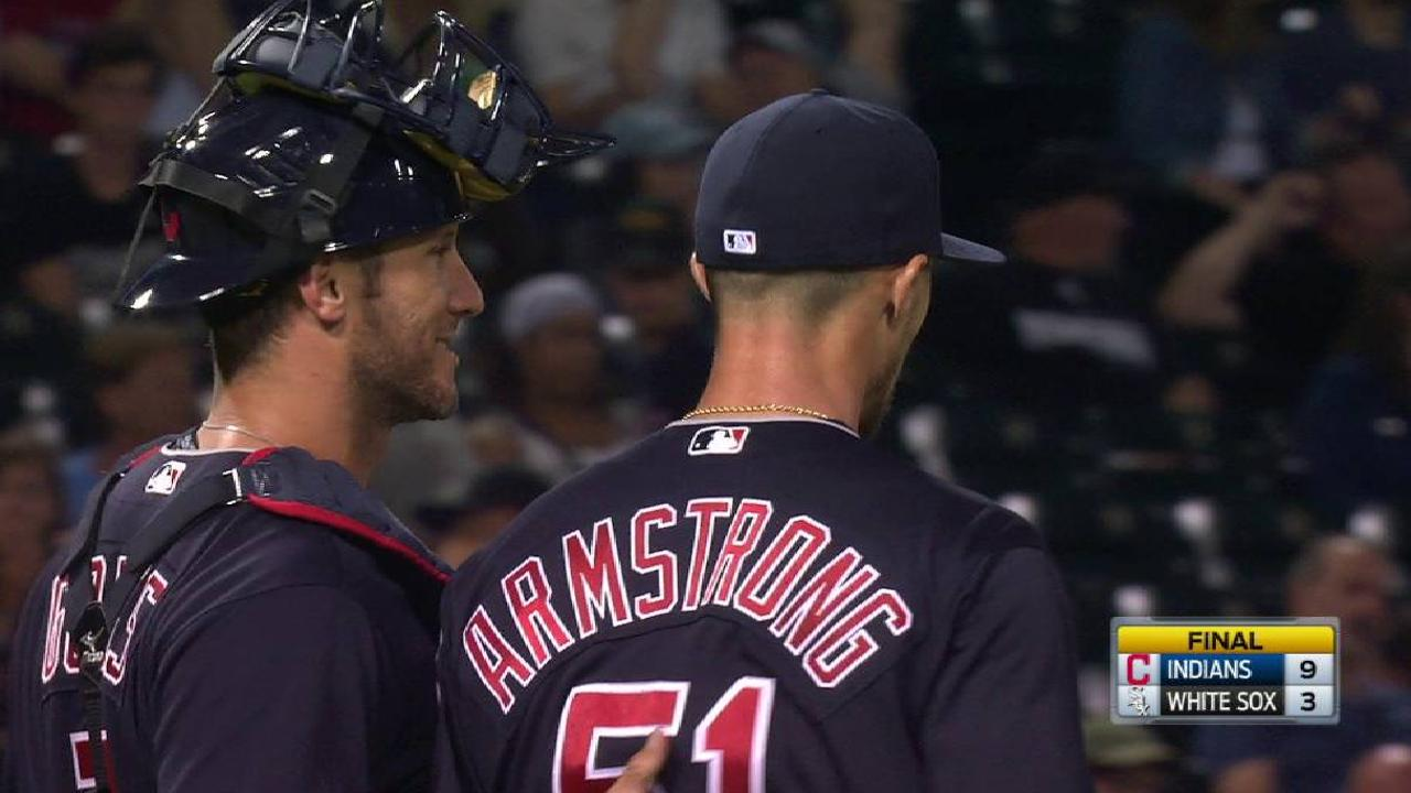 Armstrong escapes jam