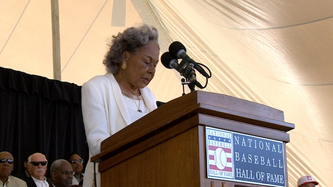 Rachel Robinson on O'Neil Award