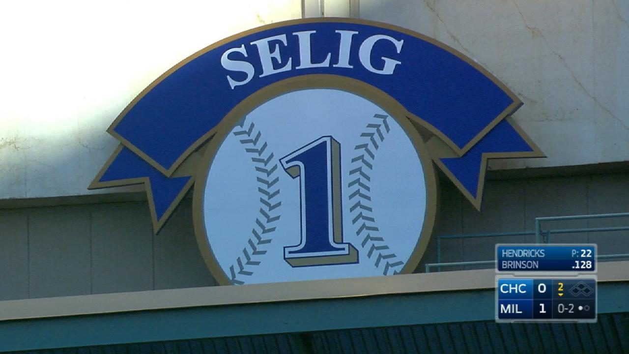 Broadcast on Selig to the HOF