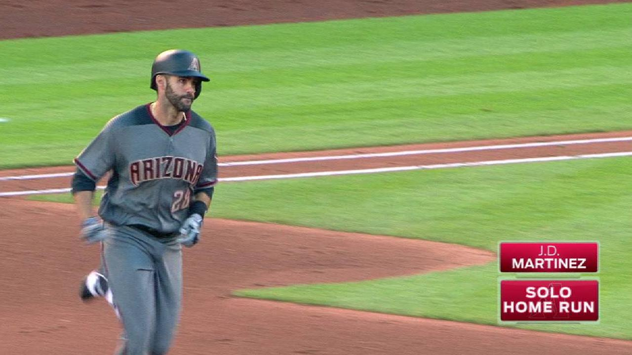 D-backs' early deal for J.D. paying dividends