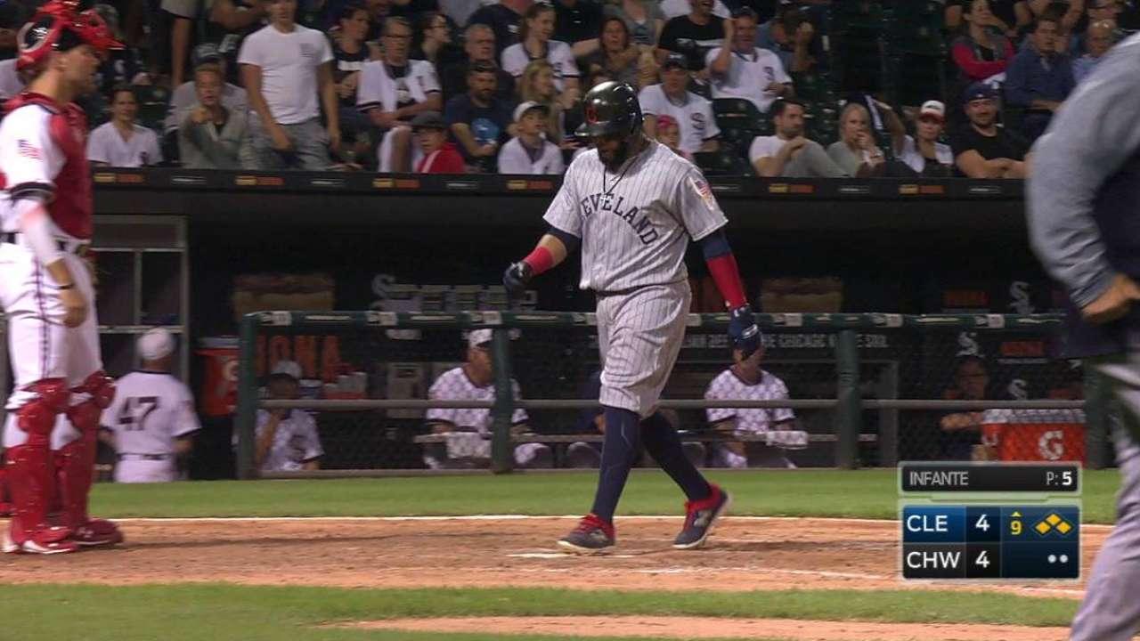 Los Indios vencieron a White Sox y lograron su noveno triunfo seguido