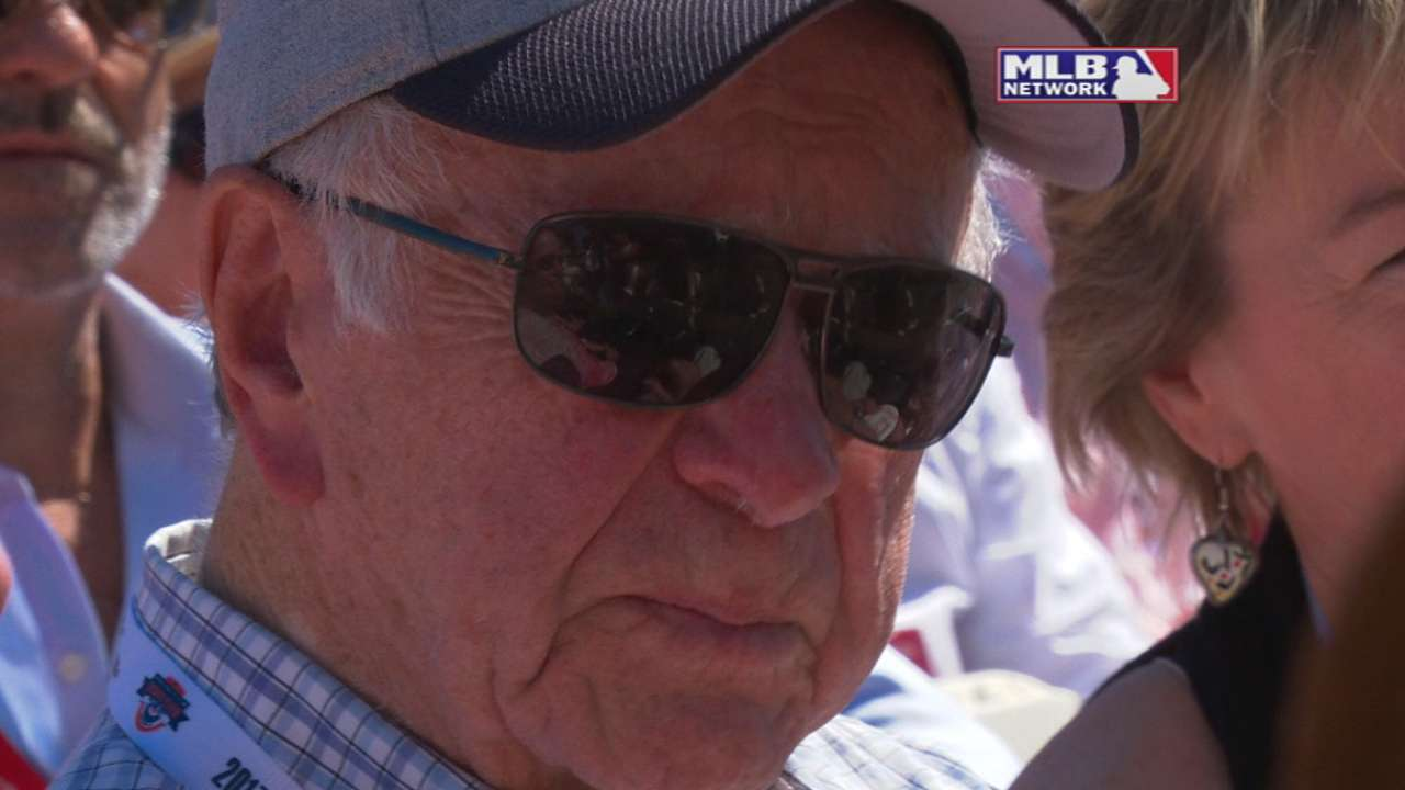 Bagwell on his father's impact