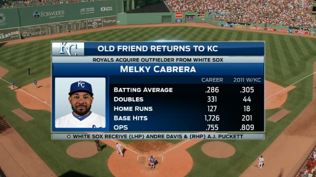 Cabrera headed to Royals