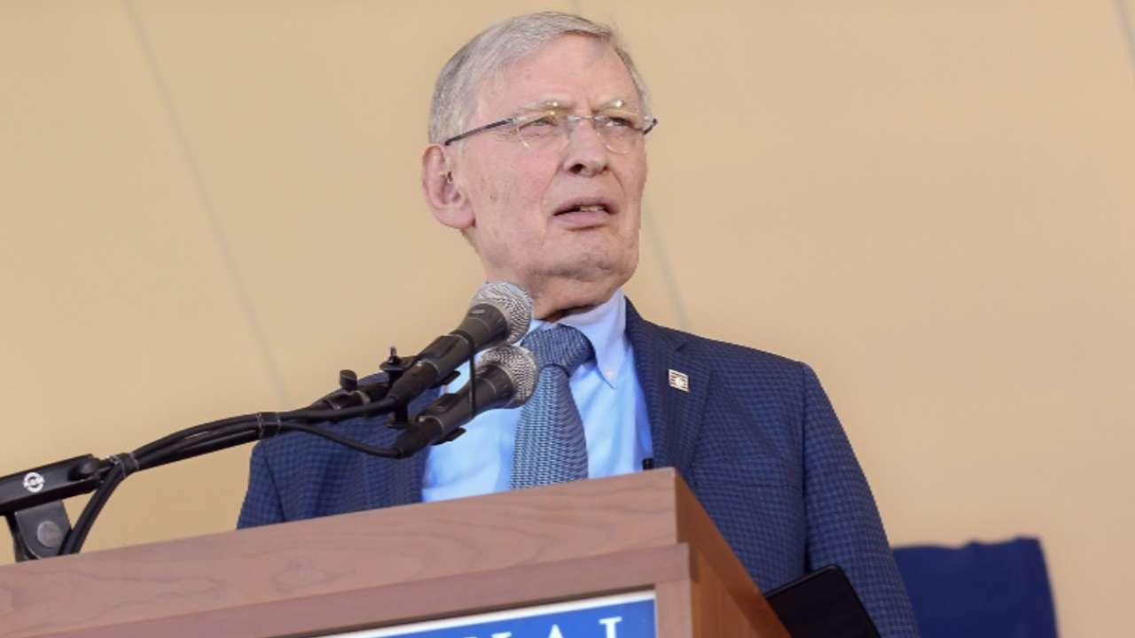 Selig talks being Commissioner
