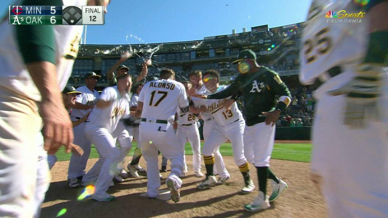 Alonso's walk-off solo homer